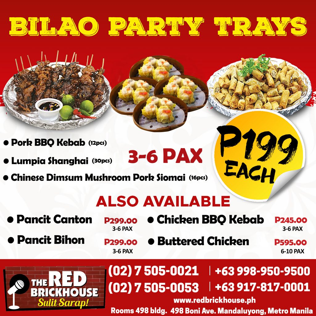 Bilao trays redbrickhouse.ph