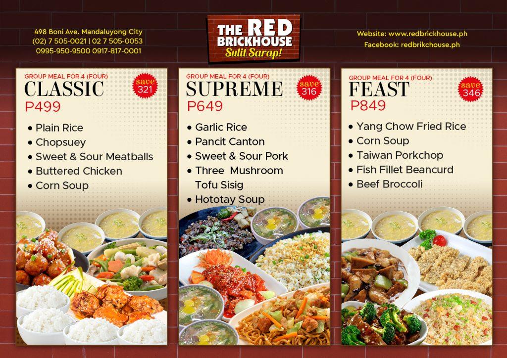 Sulit Meal at redbrickhouse.ph